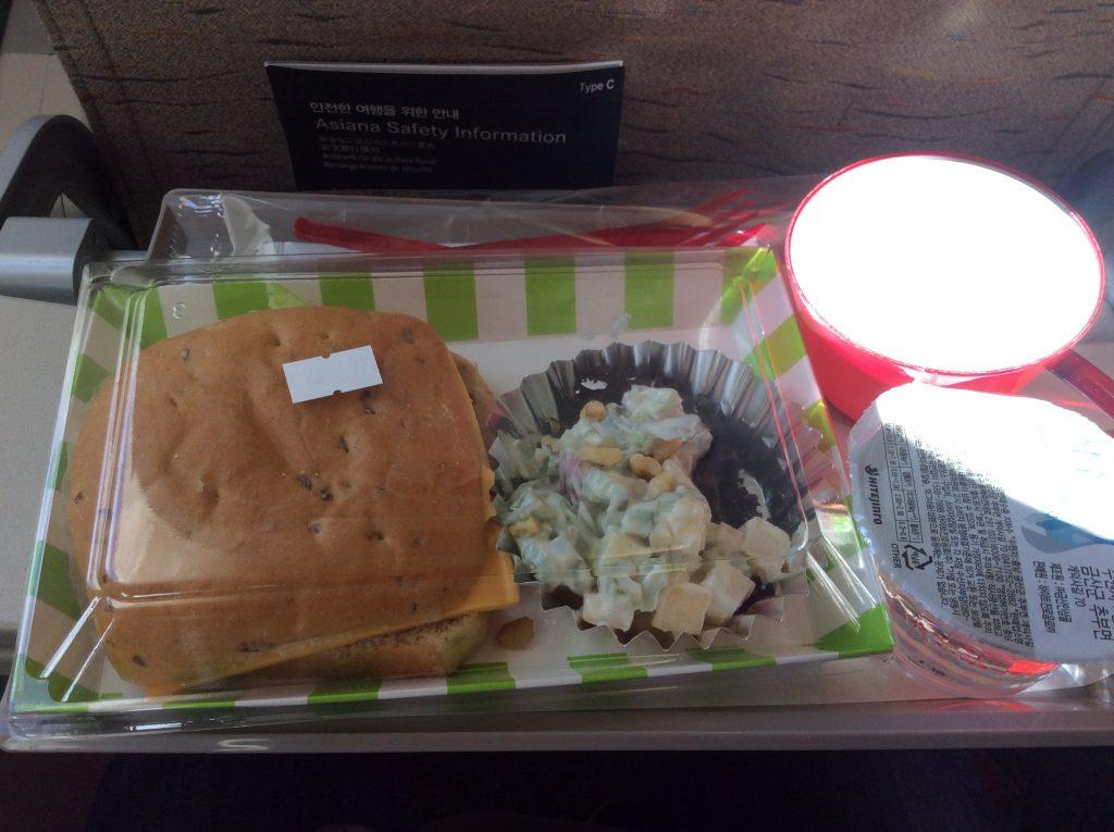 アシアナ航空の機内食